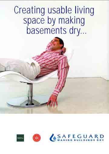 Creating usable living space by making Basements Dry
