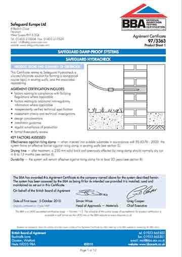 BBA-certificaat